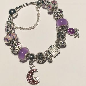 Jewelry - Pandora Purple Passion To The Moon